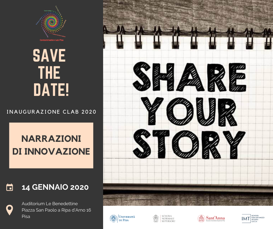 save the date clab 2020 logo imt nuovo