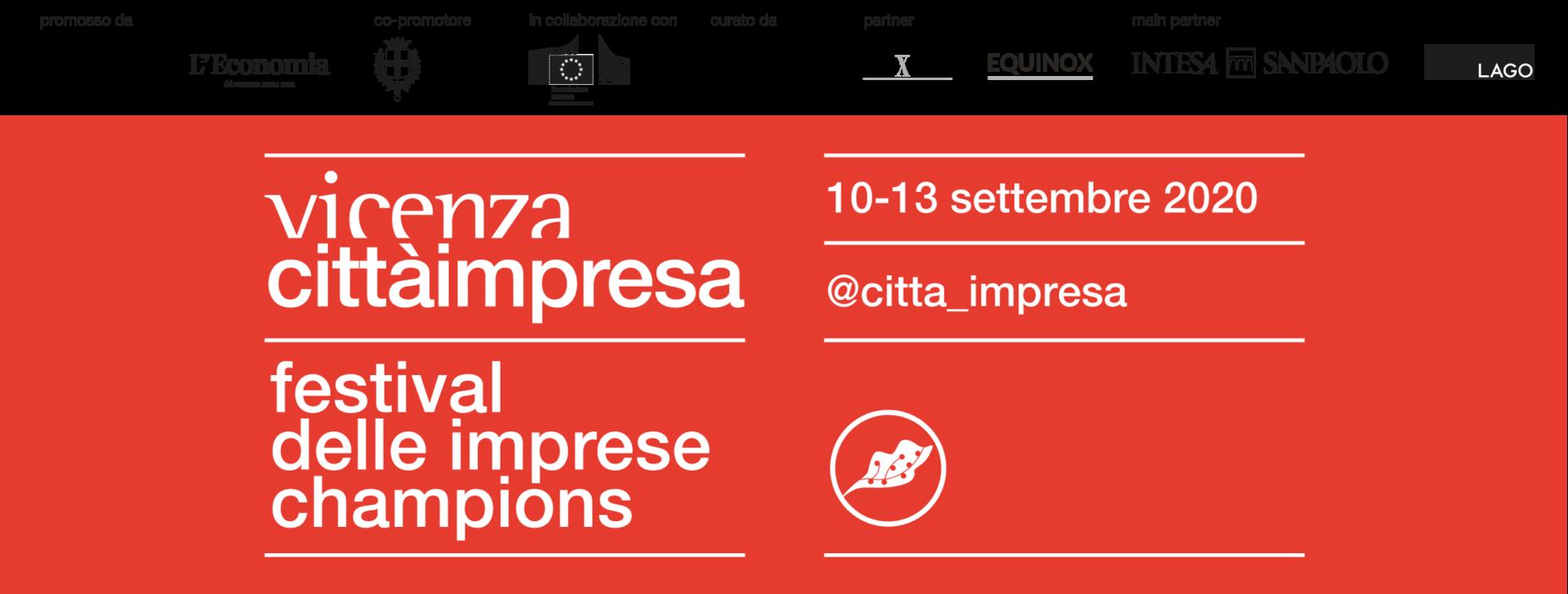 Borse di soggiorno per studenti universitari per partecipare al Festival Città Impresa di Vicenza