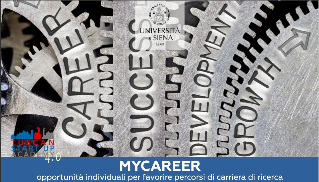 """Avviso per l'ammissione al Corso di Formazione """"MYCAREER"""""""