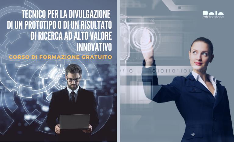 Corso di formazione gratuito per esperto in promozione e commercializzazione dell'innovazione organizzato dal Polo Tecnologico Navacchio